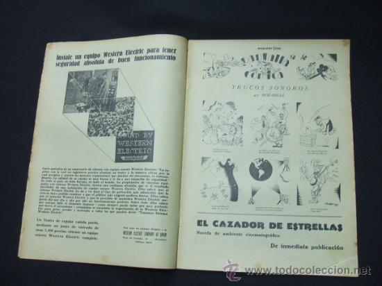 Cine: POPULAR FILM - Nº 199 - 22 MAYO 1930 - PORTADA, CONRAD NAGEL - Foto 3 - 23174471