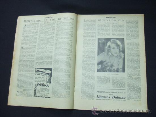 Cine: POPULAR FILM - Nº 199 - 22 MAYO 1930 - PORTADA, CONRAD NAGEL - Foto 6 - 23174471