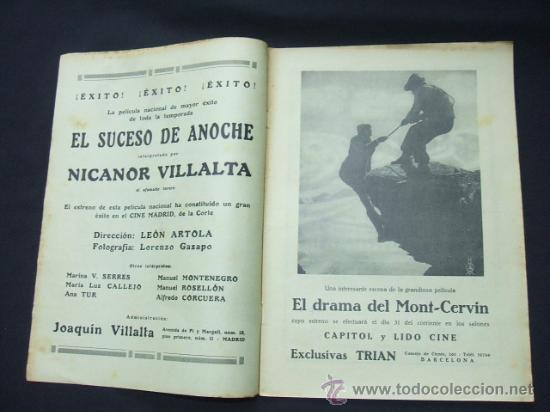 Cine: POPULAR FILM - Nº 178 - 26 DICIEMBRE 1929 - PORTADA, BUSTER KEATON Y DOROTHY SEBASTIAN - Foto 2 - 23174526
