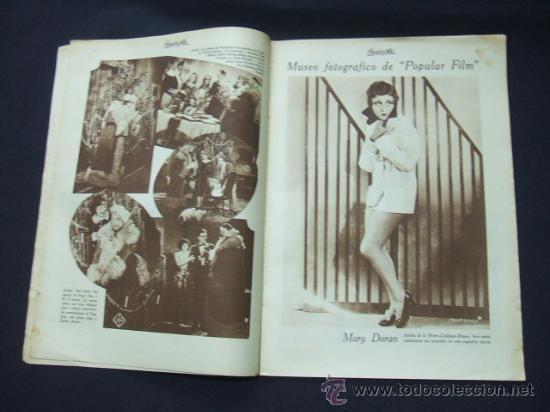 Cine: POPULAR FILM - Nº 178 - 26 DICIEMBRE 1929 - PORTADA, BUSTER KEATON Y DOROTHY SEBASTIAN - Foto 4 - 23174526