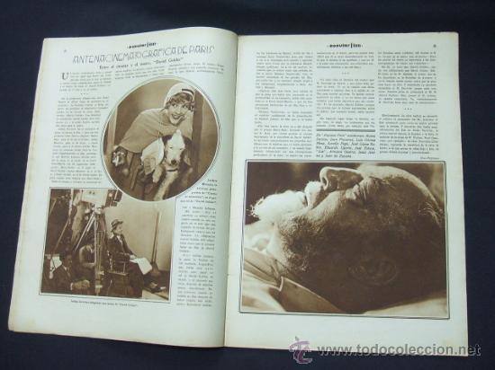 Cine: POPULAR FILM - Nº 232 - 22 ENERO 1931 - PORTADA, CONCHITA MONTENEGRO - Foto 4 - 23174663