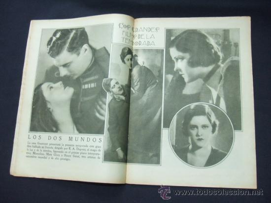 Cine: POPULAR FILM - Nº 232 - 22 ENERO 1931 - PORTADA, CONCHITA MONTENEGRO - Foto 5 - 23174663