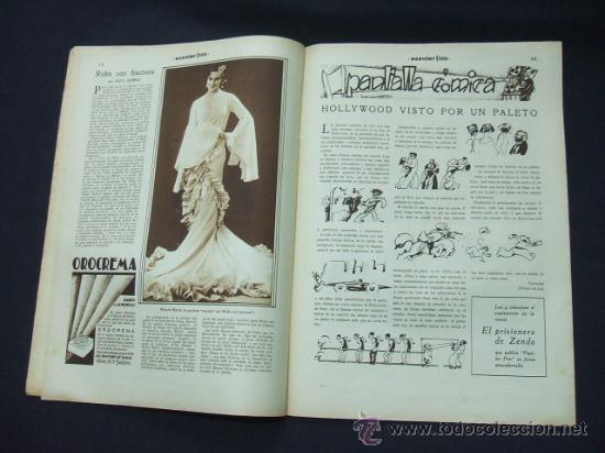 Cine: POPULAR FILM - Nº 232 - 22 ENERO 1931 - PORTADA, CONCHITA MONTENEGRO - Foto 7 - 23174663