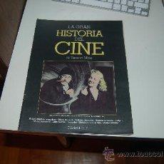 Cine: LA GRAN HISTORIA DEL CINE. TERENCI MOIX. CAPÍTULO 17. Lote 23129515