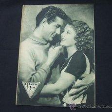 Cine: POPULAR FILM - Nº 273 - 5 NOVIEMBRE 1931 - PORTADA, JANET GAYNOR Y CHARLES FARRELL. Lote 23173879