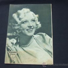 Cine: POPULAR FILM - Nº 263 - 27 AGOSTO 1931 - PORTADA, MARION DAVIES. Lote 23174031