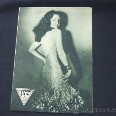 Cine: POPULAR FILM - Nº 265 - 10 SEPTIEMBRE 1931 - PORTADA, DOROTHY BURGESS. Lote 23174051
