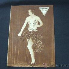 Cine: POPULAR FILM - Nº 192 - 3 ABRIL 1930 - PORTADA, NANCY CARROLL. Lote 23174176
