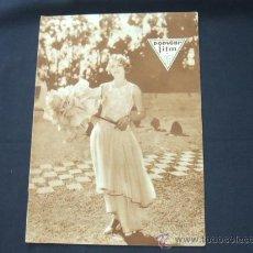 Cine: POPULAR FILM - Nº 204 - 26 JUNIO 1930 - LEYLA HYAMS. Lote 23174357