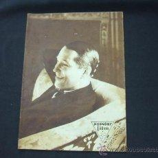 Cine: POPULAR FILM - Nº 236 - 19 FEBRERO 1931 - MAURICIO CHEVALIER. Lote 23174381