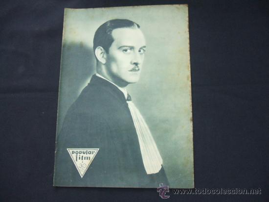 POPULAR FILM - Nº 199 - 22 MAYO 1930 - PORTADA, CONRAD NAGEL (Cine - Revistas - Popular film)