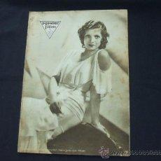Cine: POPULAR FILM - Nº 232 - 22 ENERO 1931 - PORTADA, CONCHITA MONTENEGRO. Lote 23174663