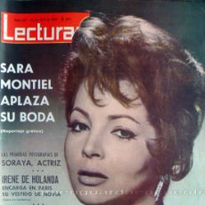 Cine: REVISTA LECTURAS, Nº 627, 24 DE ABRIL DE 1964, SARITA EN PORTADA . Lote 26309280