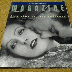 Cine: REVISTA MAGAZINE 1994 .- CIEN AÑOS EN CIEN IMAGENES.-Pº .POR EL CINE QUE OFRECIDO AL SIGLO XX. Lote 26970304