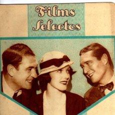 Cine: REVISTA FILMS SELECTOS, Nº 184 1934. Lote 23413093
