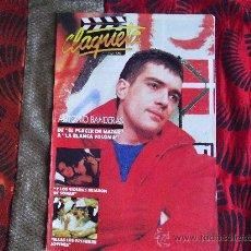 Cine: CINE-CLAQUETA-Nº3-MAYO 1989-24 PAGINAS-ANTONIO BANDERAS. Lote 23732812