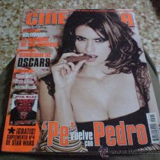 Cine: REVISTA CINEMANIA PORTADA PENELOPE CRUZ AÑO 2005. Lote 26466669