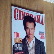 Cinema: REVISTA CINERAMA Nº 40 - 0CT'95 - TOM HANKS , MEL GIBSON , ANTONIO BANDERAS. Lote 26073244