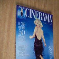 Cine: REVISTA CINERAMA Nº 49 - ESPECIAL LAS CIEN ESTRELLAS MAS SEXYS - MARILYN UMA THURMA , SHARON STONE.. Lote 26073245