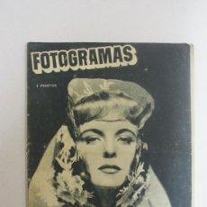 Cine: REVISTA FOTOGRAMAS- GREER GARSON SE CASA CON BUDDY FOGELSON-. Lote 24050151