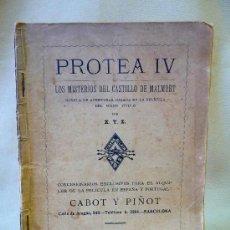 Cine: NOVELA, 1916, PROTEA IV, LOS MISTERIOS DEL CASTILLO DE MALMORT, LES MYSTÈRES DU CHÂTEAU DE MALMORT. Lote 24174100