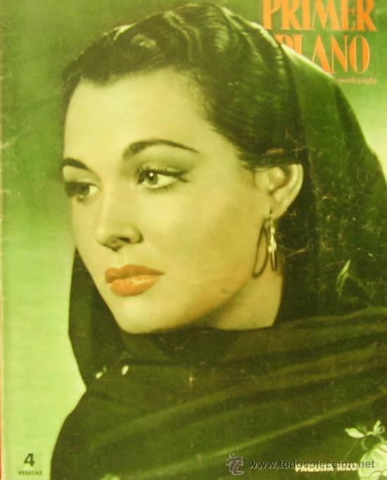 REVISTA PRIMER PLANO - PAQUITA RICO, MARIA MONTEZ 1951 Nº570 (Cine - Revistas - Primer plano)