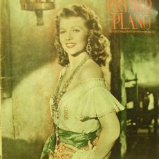 Cine: REVISTA PRIMER PLANO - RITA HAYWORTH, GLENN FORD, LOLA FLORES, RODOLFO VALENTINO 1951 Nº542. Lote 24294158