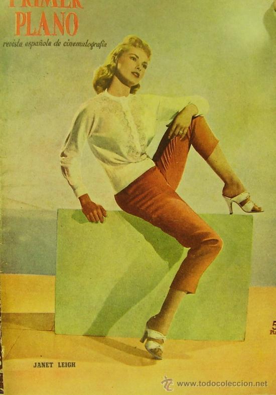 REVISTA PRIMER PLANO - JANET LEIGH, GRACE KELLY, PAQUITA RICO 1956 Nº811 (Cine - Revistas - Primer plano)
