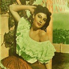 Cine: REVISTA PRIMER PLANO - AVA GARDNER, YVONNE DE CARLO 1951 Nº56. Lote 24294421