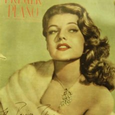 Cine: REVISTA PRIMER PLANO - RITA HAYWORTH, TYRONE POWER, MADELAINE LEBEAU, GARY COOPER 1951 Nº559. Lote 24294439