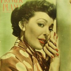 Cine: REVISTA PRIMER PLANO - LORETTA YOUNG, LOUIS JOURDAN, MARIO LANZA, JANINE MILLER 1951 Nº 558. Lote 24294449