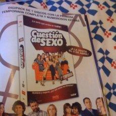 Cine: SERIE DE TV 'CUESTIÓN DE SEXO'. PUBLICIDAD EN PRENSA.. Lote 24322701