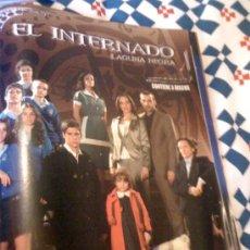Cine: SERIE DE TV 'EL INTERNADO - LAGUNA NEGRA'. PUBLICIDAD EN PRENSA.. Lote 24322772