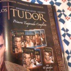 Cine: SERIE DE TV 'LOS TUDOR'. PUBLICIDAD EN PRENSA.. Lote 24322876