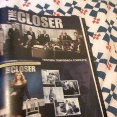 Cine: SERIE DE TV 'THE CLOSER'. PUBLICIDAD EN PRENSA.. Lote 24485236