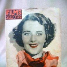 Cine: REVISTA DE CINE, FILMS SELECTOS, SEMANARIO CINEMATOGRAFICO, AÑO VII, Nº 301, 1936, RUBY KEELER,. Lote 24608616
