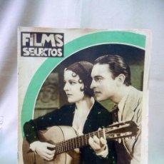 Cine: REVISTA DE CINE, FILMS SELECTOS, SEMANARIO CINEMATOGRAFICO, AÑO II, Nº 44, 1931, IMPERIO ARGENTINA,. Lote 24608725