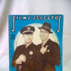 Cine: REVISTA DE CINE, FILMS SELECTOS, SEMANARIO CINEMATOGRAFICO, AÑO III, Nº 85, 1932, JACK HOLT, . Lote 24609098