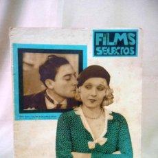 Cine: REVISTA DE CINE, FILMS SELECTOS, SEMANARIO CINEMATOGRAFICO, AÑO III, Nº 83, 1932, BUSTER KITON , . Lote 24609139