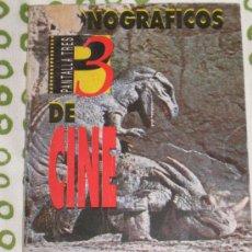 Cine: QUEX - CINE LIBROS - LIBRO MONOGRAFICOS DE CINE LOS DINOSAURIOS. Lote 39844097