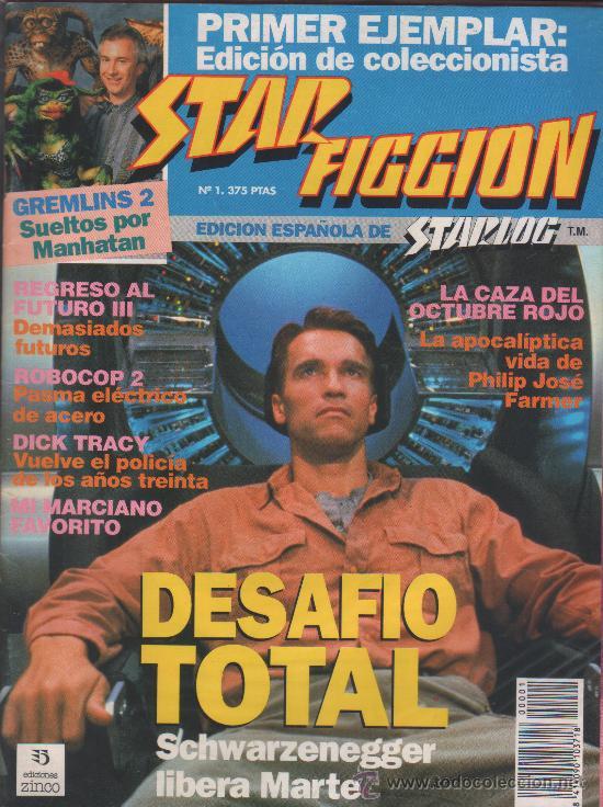 STAR FICCION 01 ZINCO (Cine - Revistas - Star Ficcion)