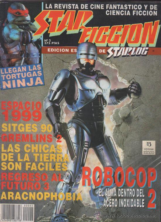 STAR FICCION 02 ZINCO (Cine - Revistas - Star Ficcion)