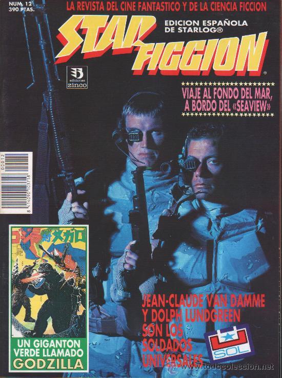 STAR FICCION 12 ZINCO (Cine - Revistas - Star Ficcion)