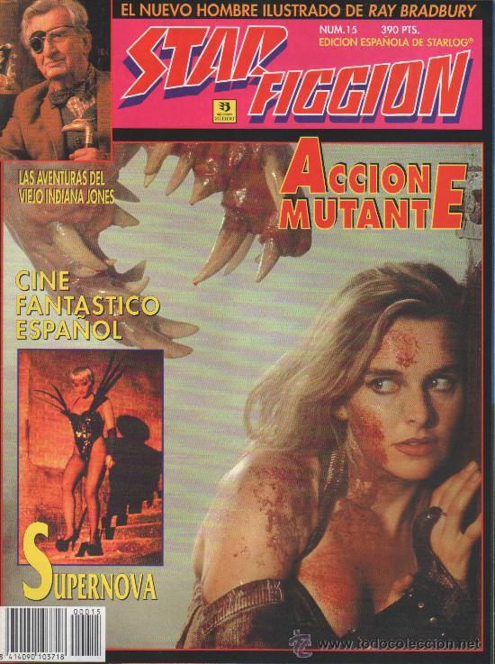 STAR FICCION 15 ZINCO (Cine - Revistas - Star Ficcion)