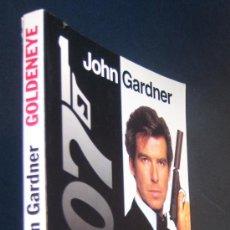 Cine: GOLDENEYE, LA NOVELA DE LA PELÍCULA DE JAMES BOND 007. JOHN GARDNER.. Lote 78850077