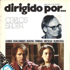 Cine: DIRIGIDO POR Nº 32 - REVISTA DE CINE – CARLOS SAURA. Lote 24772689