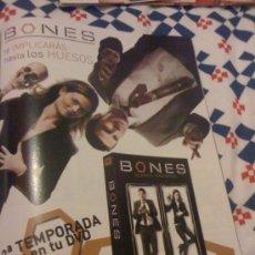 Cine: SERIE DE TV 'BONES'. PUBLICIDAD EN PRENSA.. Lote 24784398