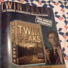 Cine: SERIE DE TV 'TWIN PEAKS', DE DAVID LYNCH. PUBLICIDAD EN PRENSA.. Lote 24784777