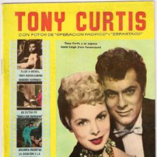 Cine: COLECCION CINECOLOR. TONY CURTIS, BIOGRAFIA, FOTOS. Lote 24788593