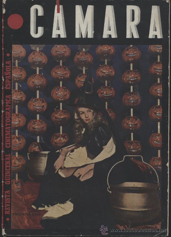 CÁMARA. REVISTA CINEMATOGRÁFICA. MAYO 1945. VERONICA LAKE (Cine - Revistas - Cámara)